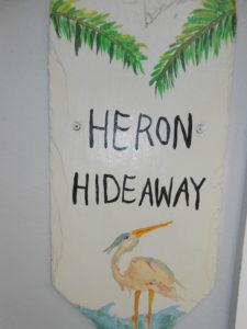 heron hideaway