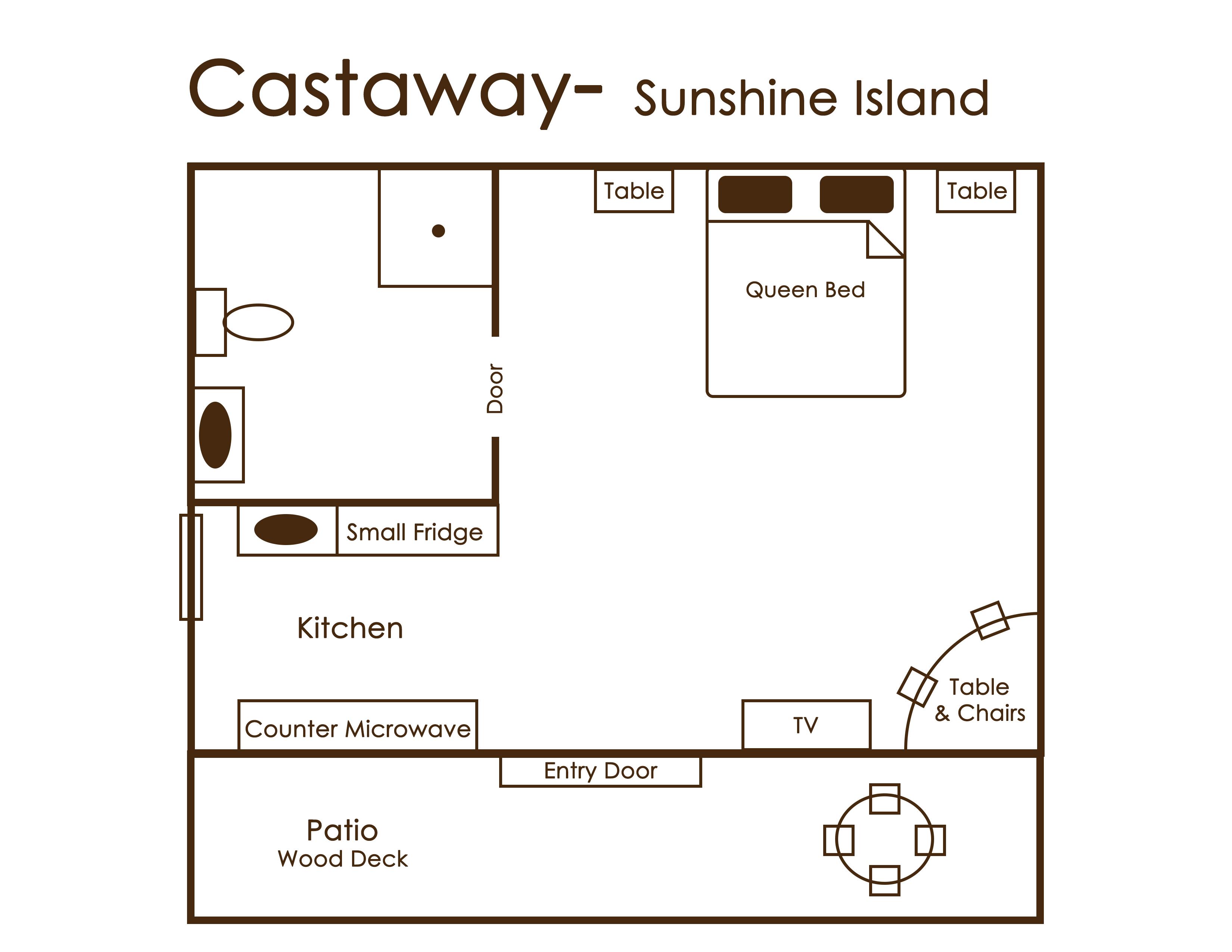 Castaway sunshine island