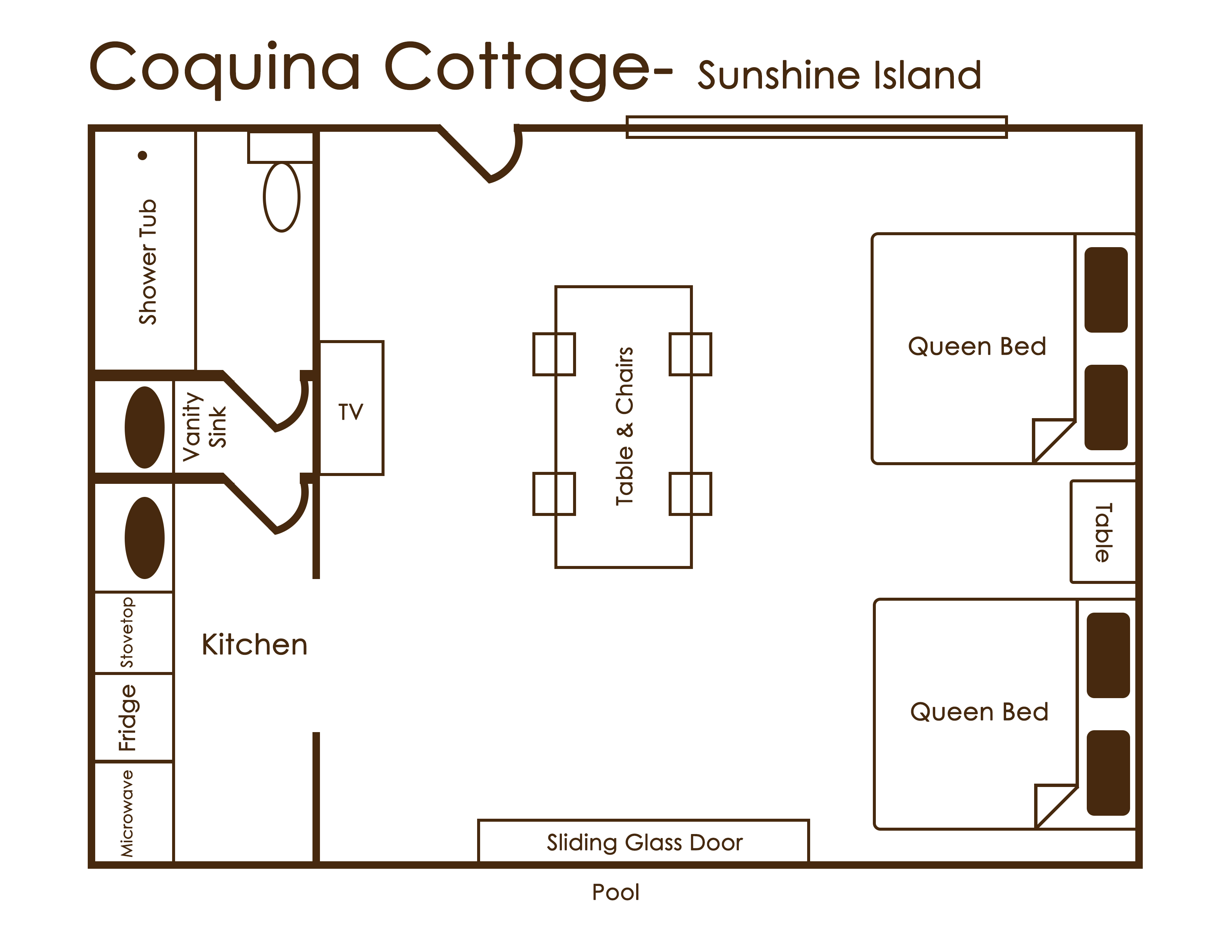 coquina cottage sunshine island
