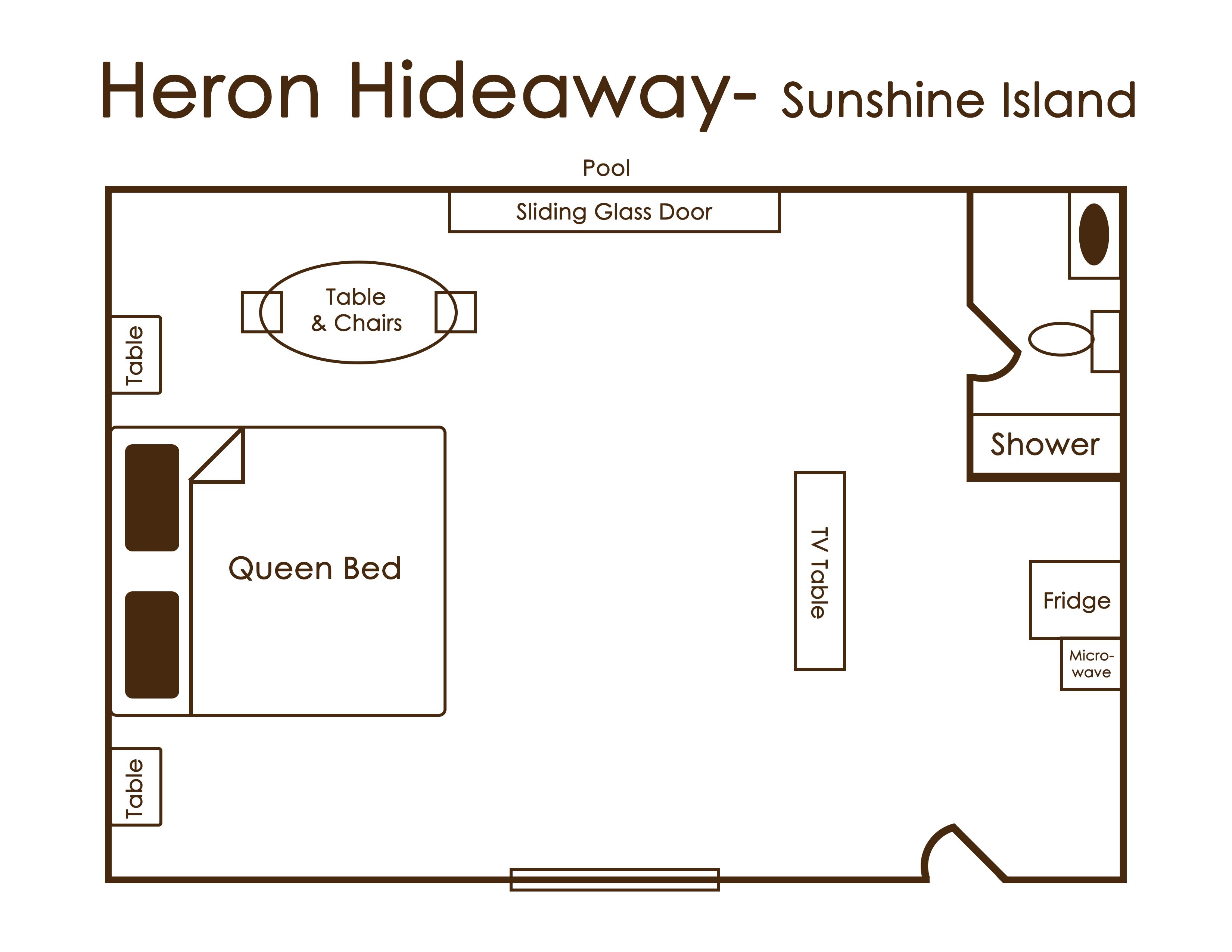 heron hideaway sunshine island